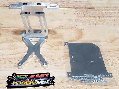 TRAXXAS X MAXX 1/5TH SCALE MOTOR MOUNT W/ ESC PLATE