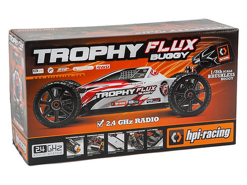 HPI Trophy Buggy Flux Brushless RTR 1/8 4WD Off-Road Electric Buggy w/ Radio
