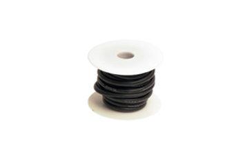 10 Gauge Silicone Ultra-Flex Wire; 25' Spool (Black) RCE1207
