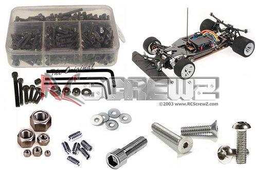 Serpent 966e 1/8 Onroad Stainless Screw Kit SER019