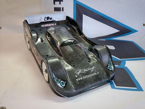 PORSCHE 962 LEMANS 325mm/2mm 1/8 SCALE GT RC CAR SPEED RUN DRAG RAC