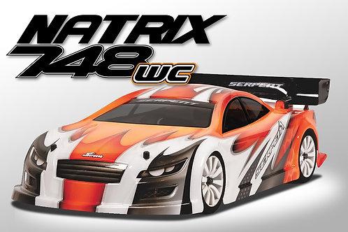 SERPENT Natrix 748-WC 1/10 200mm gp car (#804010)
