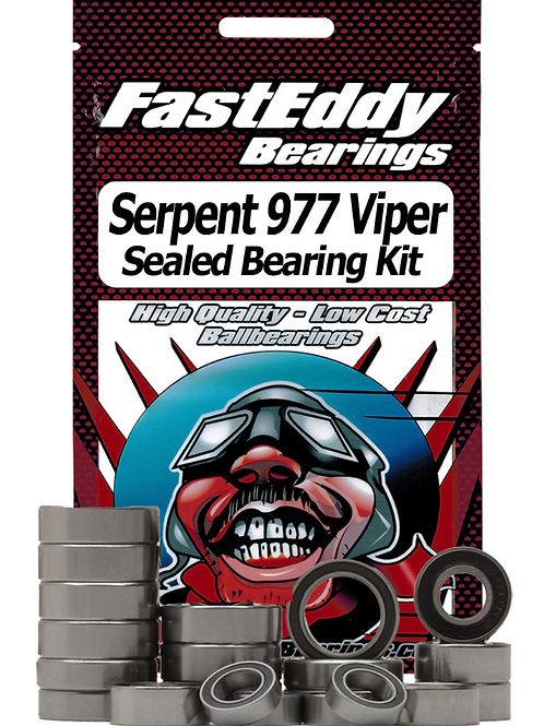 FASTEDDY Serpent 977 Viper Sealed Bearing Kit