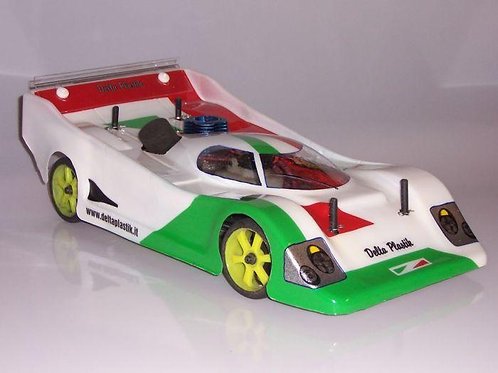 PORSCHE 962 1/10 SCALE 200MM RC CAR BODY