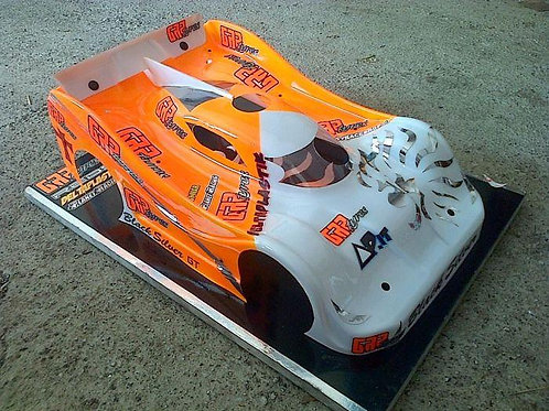 N147S- DOME 2013 8TH SCALE GT RC CAR SPEED RUN BODY