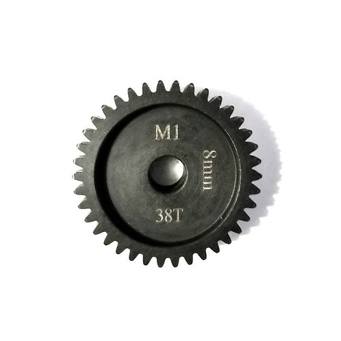 38T 8mm MOD-1 Saga Pinion Gear *Hardened Steel*