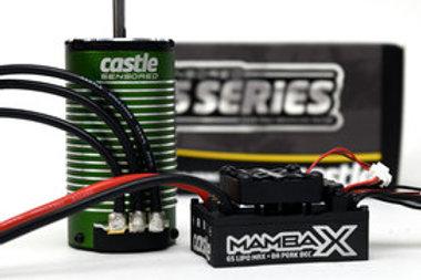 Mamba X 25.2V Waterproof ESC & 1515-2200 KV Sensored Motor, E-Buggy Combo