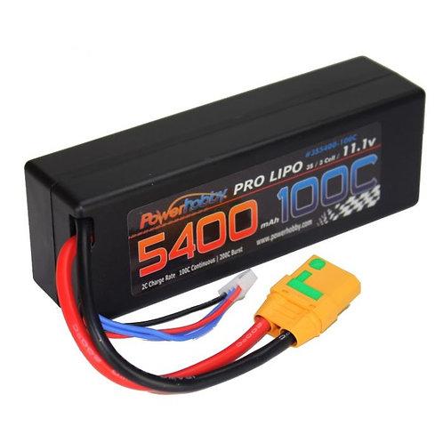 Powerhobby 3s 11.1v 5400mah 100c lipo Battery
