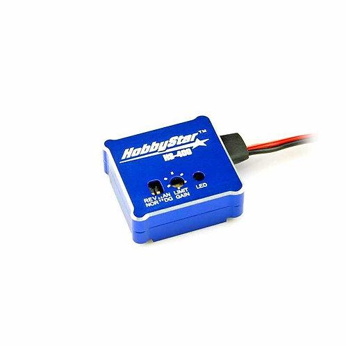 HobbyStar HS-400 Gyro, Adjustable Stability Control, Drift-Assist RC Car, BLUE