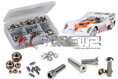 Serpent 988 Viper 1/8th Stainless Screw Kit SER065