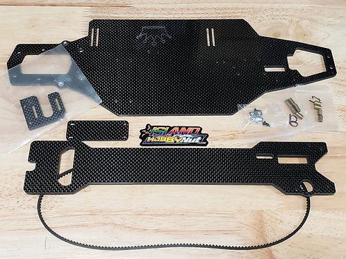 Hobao Epx *EXTENDED* Carbon Fiber Chasis Kit