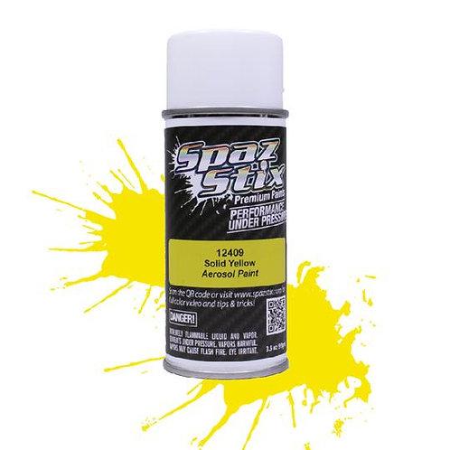 Spaz Stix - Solid Yellow Aerosol Paint, 3.5oz Can