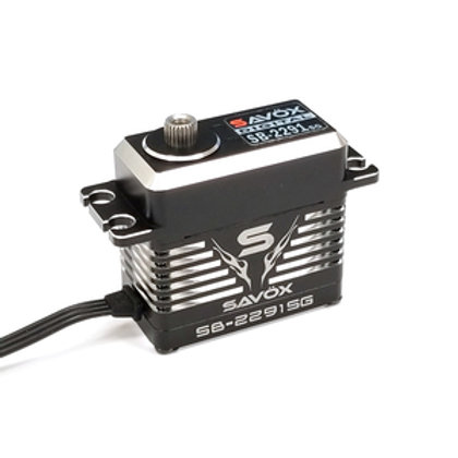 SAVOX Monster High Speed Brushless Servo, Black Edition 0.05sec / 250oz @ 7.4V
