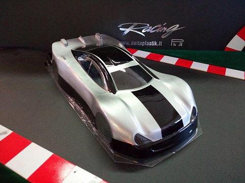 DELTA PLASTIK 0419 - MERCEDES CLK 1/10 SCALE 200MM RC CAR BODY