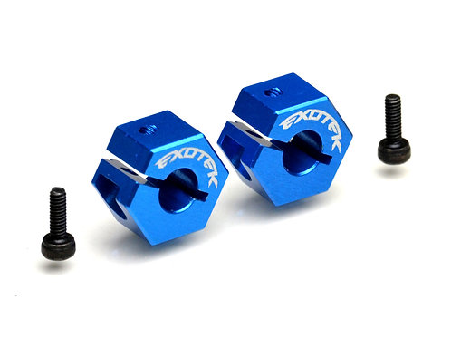 EXOTEK 1977 DR10 Rear Clamping Hex, 7075 Aluminum (1pc)