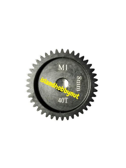 40T 8MM MOD-1 Saga PINION GEAR *Hardened Steel*
