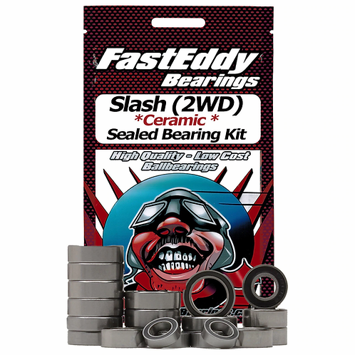 FASTEDDY Traxxas Slash (2WD) Ceramic Sealed Bearing Kit