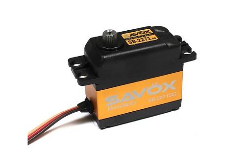 SAVOX SB2271SG - High Voltage Brushless Digital Servo .065/277 @ 7.4V
