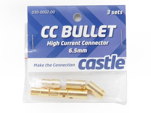 Castle Creations 6.5mm High Current Bullet Connectors