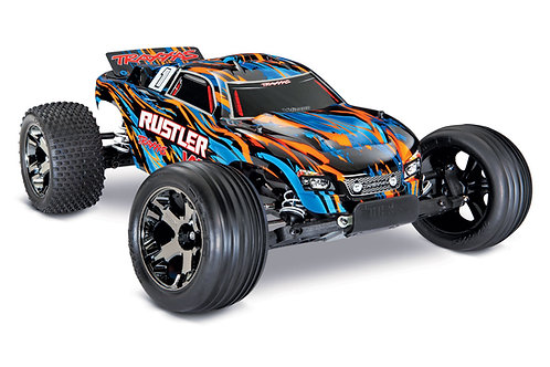 Traxxas Rustler® VXL: 1/10 Scale Stadium Truck with TQi Traxxas Link 37076 - 4