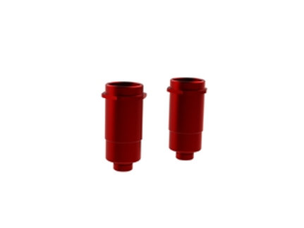 ARRMA ALUMINIUM SHOCK BODY 16X44MM (RED) (2PC) #AR330198
