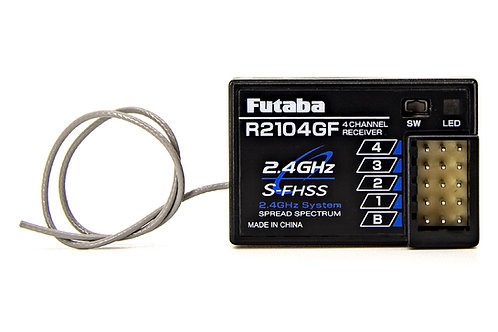 FUTABA R2104GF S-FHSS 2.4GHz 4-Channel High Voltage Receiver