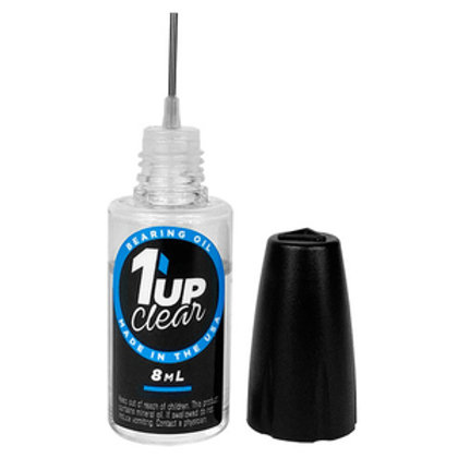 1up Racing Clear Bearing Oil 120202 – 8ml Oiler Bottle