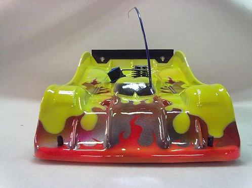 1/8 Scale R18 295mm/2mm Rc Car Body *Drag or Speed Runs*