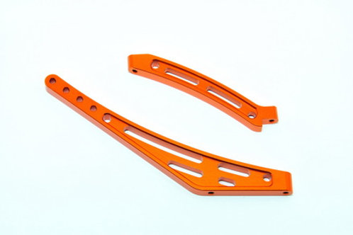 HOBAO OP-0050 CNC F/R CHASSIS STIFFENER SET FOR SS EP