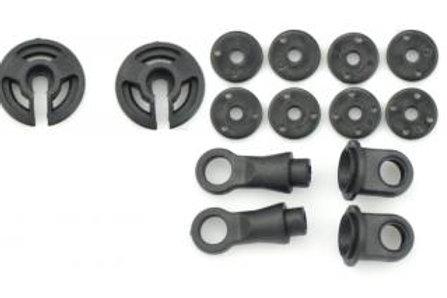 SERPENT Shock RCM parts frame nylon long (14) 160112