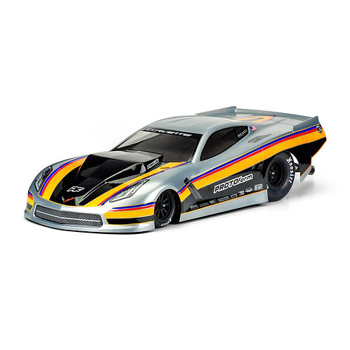 PROLINE Clear Body, Chevrolet Corvette C7 Pro-Mod: 1/10 Slash 2WD