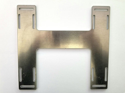 Universal Offset 1/10 ALUMINUM H Plate Battery Tray