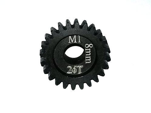 24T 8MM MOD-1 Saga Pinion Gear *Hardened Steel*