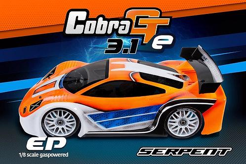 Serpent Cobra GTe 1/8 EP 3.1 #600051) Brushless E Version