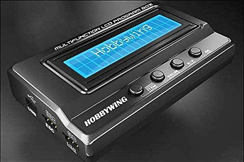 Hobbywing Multifunction LCD Program Box for ESC Programming by Hobbywing