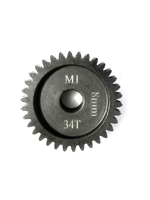 34T 8MM MOD-1 Saga PINION GEAR *Hardened Steel*