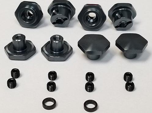 MIP 17mm Hex Adapter Kit, Traxxas Slash / Stampede / Rustler / Rally -