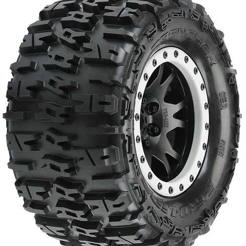 """PRO-LINE Trencher 4.3"""" X-MAXX MTD Impulse Front Rear Tire, Black/Gray"""