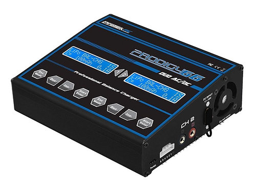 ProTek RC Prodigy 625 DUO Touch AC LiHV AC/DC Battery Charger PTK8519