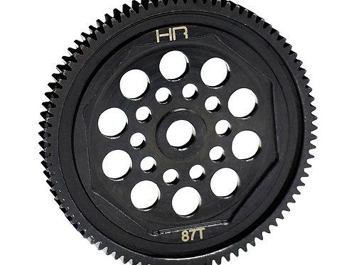 HOT RACING HRAEDR8 87T Steel Spur Gear, 87T 48p: ASC T4B4 Enduro