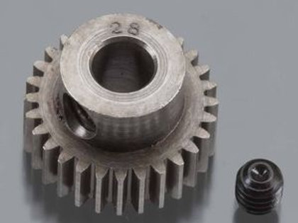 RRP2028  HARD 48 PITCH MACHINED 28T PINION 5M/M BORE
