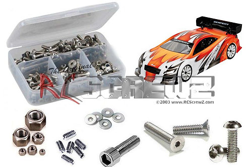 ser057 – Serpent Natrix 748e Stainless Screw Kit
