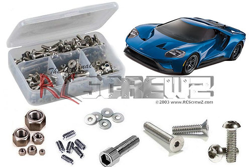Traxxas 4-Tec 2.0 Ford GT (#83056-4) Stainless Screw Kit TRA080