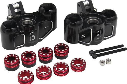 HOT RACING AFE21M01 Triple Bearing Support Steering Blocks Arrma 1/5