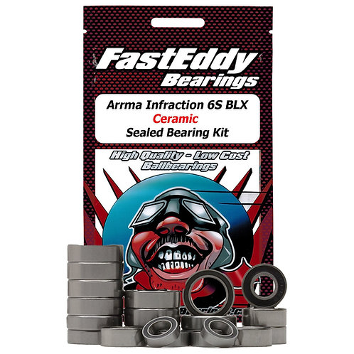 FAST EDDY Arrma Infraction 6S BLX Ceramic Sealed Bearing Kit