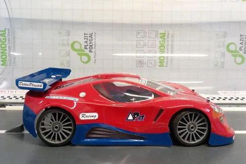 DELTA PLASTIK 0173 – PZ 4.0 1/8 SCALE GT RC CAR BODY