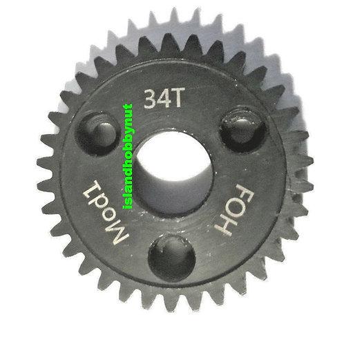 34T Mod-1 Spur Gear *Hardened Steel*