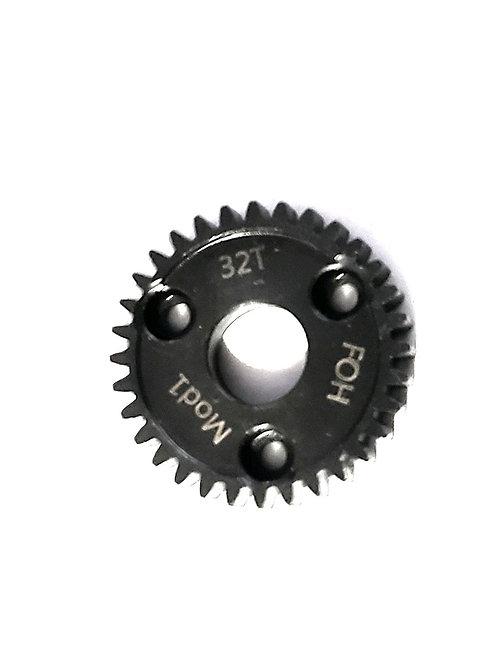 32T Mod-1 Spur Gear *HARDENED STEEL* (Revo Style)
