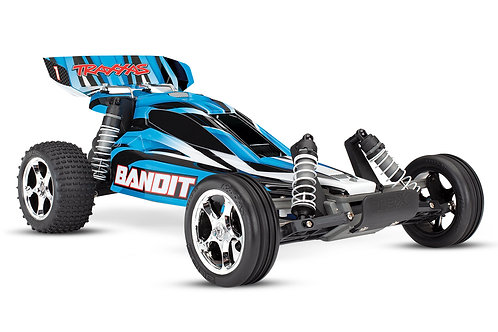 Traxxas Bandit 1/10 scale Off Road Buggy  W/ TQ 2.4 GHz Radio System 24054-1