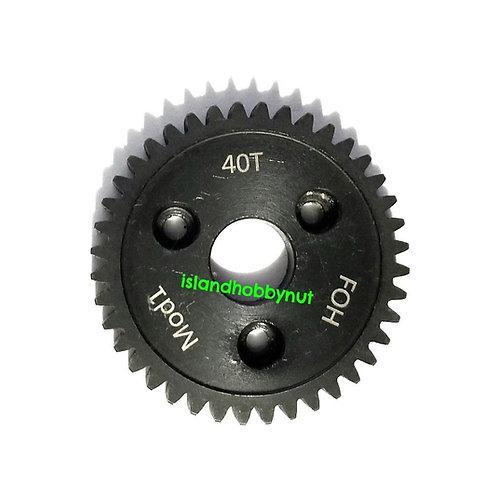 40T MOD-1 FOH *HARDENED STEEL* SPUR GEAR REVO STYLE
